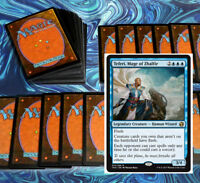 mtg BLUE TRICKS DECK Magic the Gathering rares 60 cards teferi keiga reef worm
