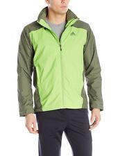 adidas Outdoor Wandertag 2-Tone Men's Climaproof Storm Hiking Jacket $110 NEW L