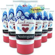 6x Neutrogena Fórmula Noruega concentrada de Mano Crema Sin Perfume 75 Ml