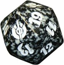 Mirrodin Besieged Black Spindown Lifecounter Dice d20 Dado Nero MTG MAGIC