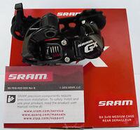 SRAM - Cambio posteriore originale SRAM GX Type 2.1 Nero/Black 2 x  10v/s - NEW