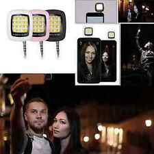 Portable 16 LED Selfie Flash Fill Flash Light for Samsung iPhone Smartphone hs