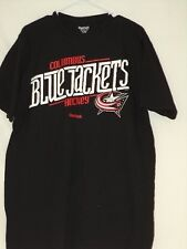 Columbus Blue Jackets Hockey Reebok NHL Black T-Shirt XL