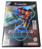 Metroid Prime 2 Echoes Nintendo Gamecube PAL *Complete*