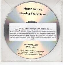 (GE95) Matthew Lee, Heartbreaker - 2013 DJ CD