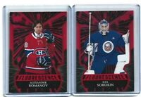2020-21 Upper Deck Series 2 Fluorescence Red SP RC Cards **You Pick From List**