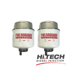 Fuel Manager Replacement Diesel Filter Element 2 Micron 36693 Twin Pack