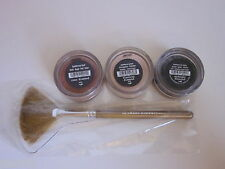 Bare Escentuals bare Minerals * Diamond Rose Flawless Midnight * Lot + Brush New