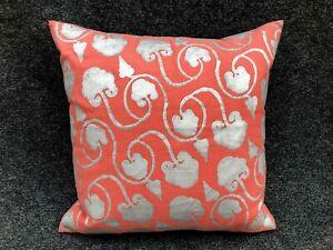 JOHN ROBSHAW Textiles Decorative Pillow Linen Cotton 20 x 20 Feather Insert