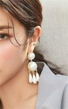 CG5422...GOLD PLATED & WHITE PEARL EARRINGS - FREE UK P&P