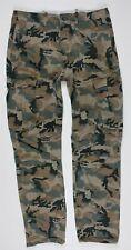 Levi's Ace Cargo Twill Camo Pants MENS 31 x 32 Camouflage Cotton