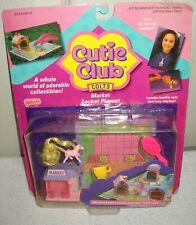 #10155 NRFC Vintage Galoob Cutie Club Colts Market Locket Playset