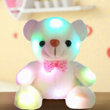 Creative Light Up LED Teddy Bear Stuffed Animals Plush Toys Kids Birthday Gifts