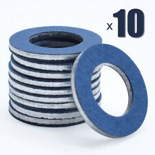 10 PC Engine Oil Drain Plug Washer Gaskets Seal Rings For Toyota Corolla 4Runner