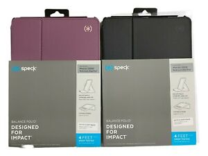 "Speck Balance Folio Case for iPad Air 2019 10.5"" & iPad Pro 10.5"" - Black Purple"