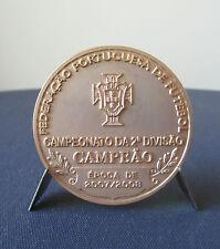 Federação Portuguesa de Futebol, 07/08 2nd Div. Football League Champion Medal