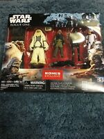 """HASBRO STAR WARS ROGUE ONE 3.75"""" inch 4 PACK KOHLS EXCLUSIVE"""