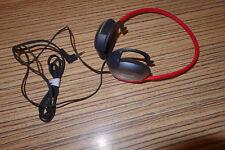 Aiwa Kopfhörer HP MO 46 mit Hinterkopf Bügel Rot. Passt für Minidisc, Walkman