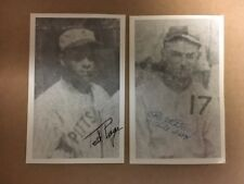Ted Page 1923 Homestead Grays 2X Signed Vintage Postcard Written Note JSA Precer