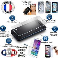 Protection d'Ecran en Verre Trempé Contre les Chocs pour Samsung Galaxy A3 2016