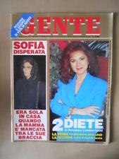 GENTE n°21 1991 Sofia Loren Sabatini Gabriella Edwige Fenech Redford  [M23]