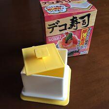 DAISO Japan Decorative Sushi Kit Japanese Food Sushi Maker Kawaii Kids Party New
