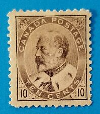 canada stamp Scott #93 MH, very well centered with good original gum. Good perfs