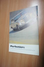 Mercedes Benz Daimler Perfection 600 w113 w111 Flyer BROCHURE LIVRET prospectus