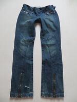 G-Star RAW Damen Hüft- Jeans Hose, W 30 /L 34, robuster Vintage Denim, LOOK ! 38