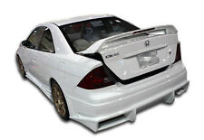 01-05 Honda Civic 2DR Duraflex Bomber Rear Bumper 1pc Body Kit 100230