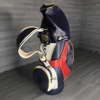 Macgregor Mini Golf Bag Red White Blue  Tommy Hilfiger Color-way MINT CONDITION