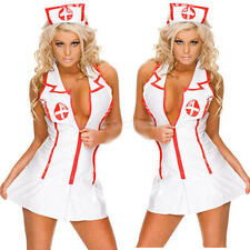 Nurse Cosplay Uniform Costume Complete Outfit,Sexy lingerie Nurse Cosplay Suit