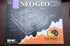 SNK NEO GEO CD box + manual only Japan import system US seller