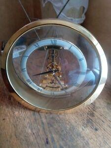Seiko Quartz Skeleton Mantle Clock Japan