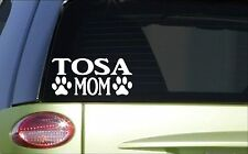 Tosa Mom *H884* 8 inch Sticker decal japanese fighting dog mastiff tosa inu