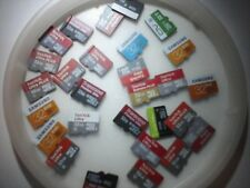 32GB micro sd card lot 5 pack with adapter          1 time offer