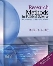Research Methods in Political Science (Book Only) by Michael K. Le Roy Paperback
