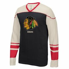 "NHL CCM Throwback ""Better Days"" Retro Applique Long Sleeve Vintage T-Shirt Men's"