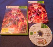 Ultimate Marvel vs Capcom 3 - Xbox 360 *Complete* *Capcom* PAL,AU