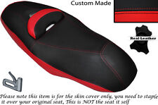 RED & BLACK CUSTOM FITS YAMAHA YP 400 X MAX 12-14 DUAL LEATHER SEAT COVER