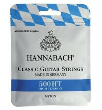 Hannabach 500HT - Cordes guitare classique - tension forte