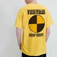 Asap Testing T Shirt Rocky F*ck Sleep Off Social Rap Hip Hop Friends Forever Tee
