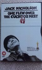 One Flew Over The Cuckoo's Nest Jack Nicholson DVD Used One Time