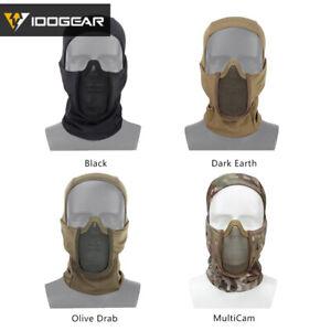 IDOGEAR Tactical Balaclava Mask MESH Vollgesichts-Airsoft-Maske Jagdmaske Gear