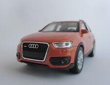 Welly Audi Q3 / Bronze / Rückzugmotor / Druckgussmodel / 1:39 /OVP / Neu