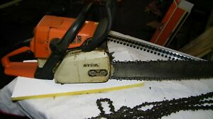 STIHL 024AV CHAINSAW Runs Perfect comes with 3 Xtra chains