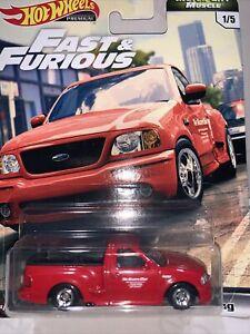 Hot Wheels - Fast & Furious Premium Motor City Muscle - Ford F-150 SVT Lightning