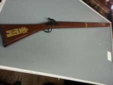 """OLD BETSY TOY CAP RIFLE WITH ORANGE TIP 37 """"  IN LENGTH GUN"""