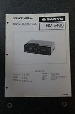 Sanyo RM5400 Service Manual