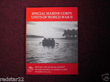 Special Marine Corps Units Of World War II on CD in .pdf Format